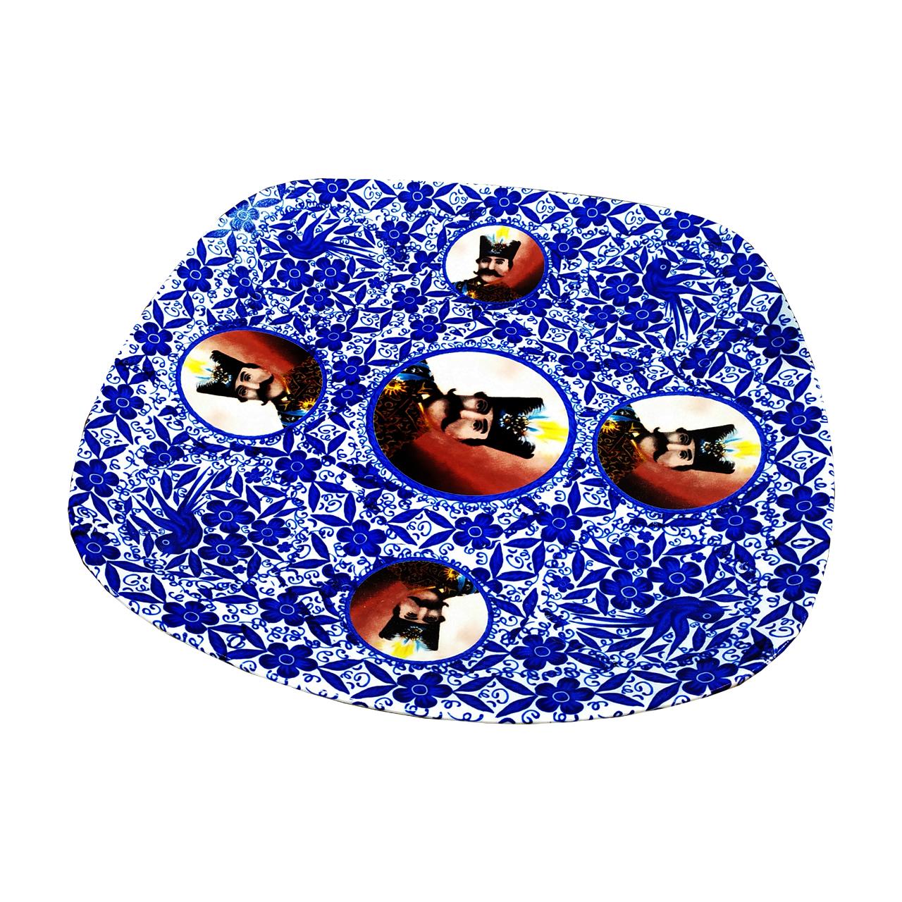 خرید                      ست کاسه و بشقاب چینی طرح قاجار کد 6548