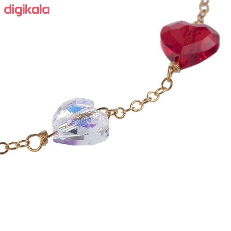 دستبند طلا 18 عیار نه الن نار مدل MDZ 004