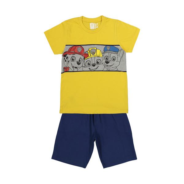 ست تی شرت و شلوارک پسرانه سون پون مدل 1391247-19