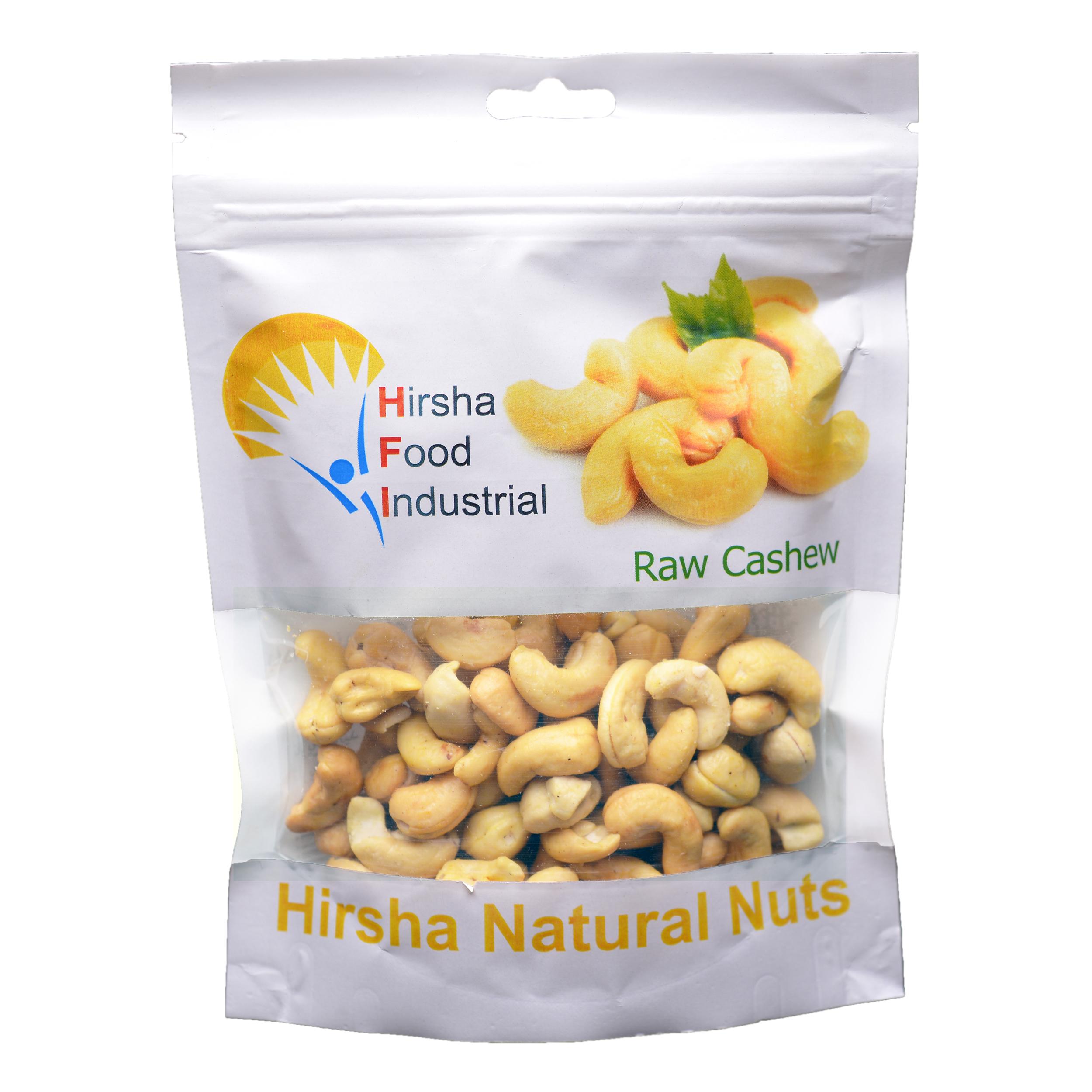 بادام هندی خام هیرشا - 175 گرم