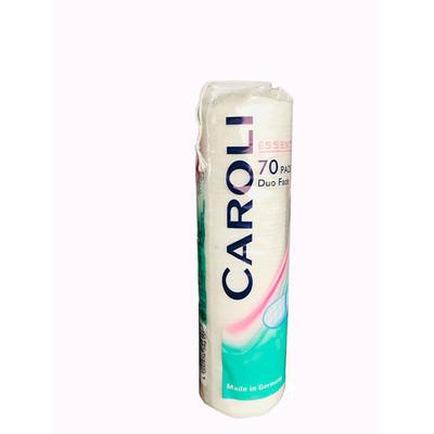 پد پاک کننده آرایش صورت کرولی مدل White بسته 70 عددی