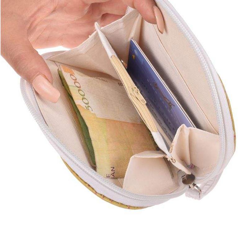 کیف پول دخترانه طرح یونیکورن کد SH-526