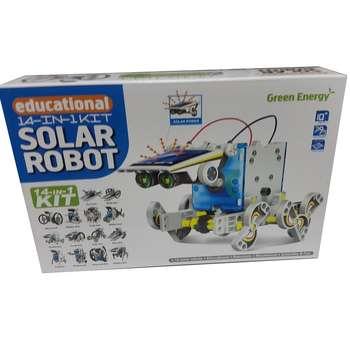 کیت آموزشی ربات خورشیدی مدل Green Energy