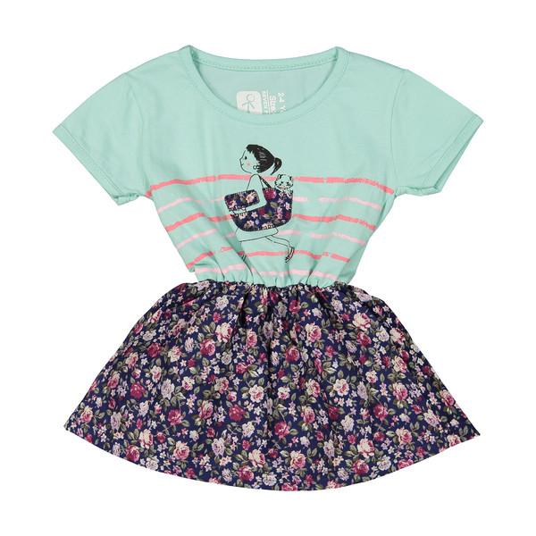 پیراهن دخترانه سون پون مدل 1391264-54