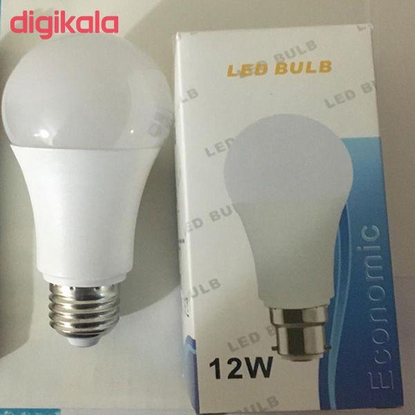 لامپ ال ای دی 12 وات کد B22 پایه E27  main 1 1
