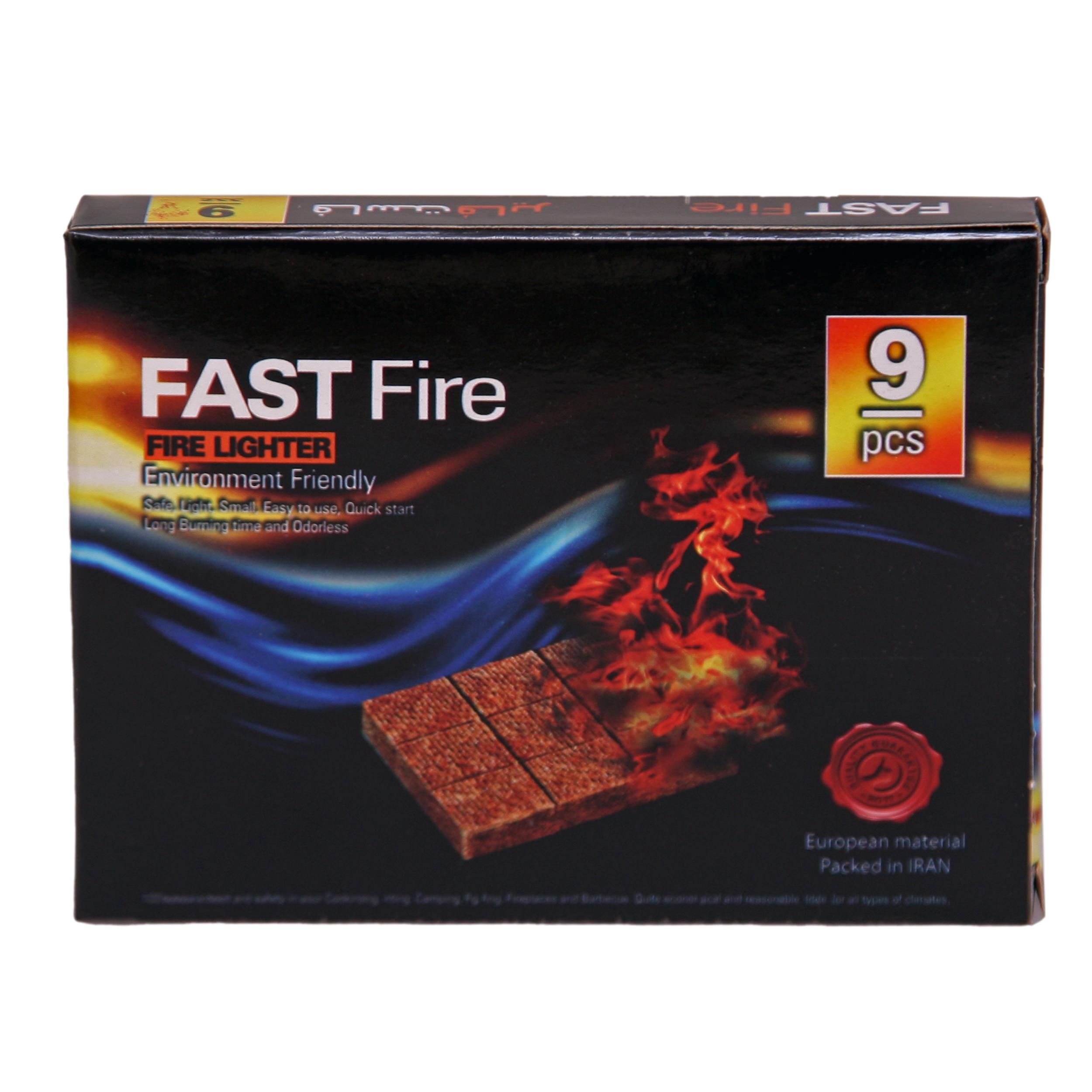 آتش زنه فاست فایر کد ACD1 بسته 9 عددی