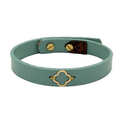 تصویر دستبند طلا 18 عیار زنانه مانچو کد bfg198