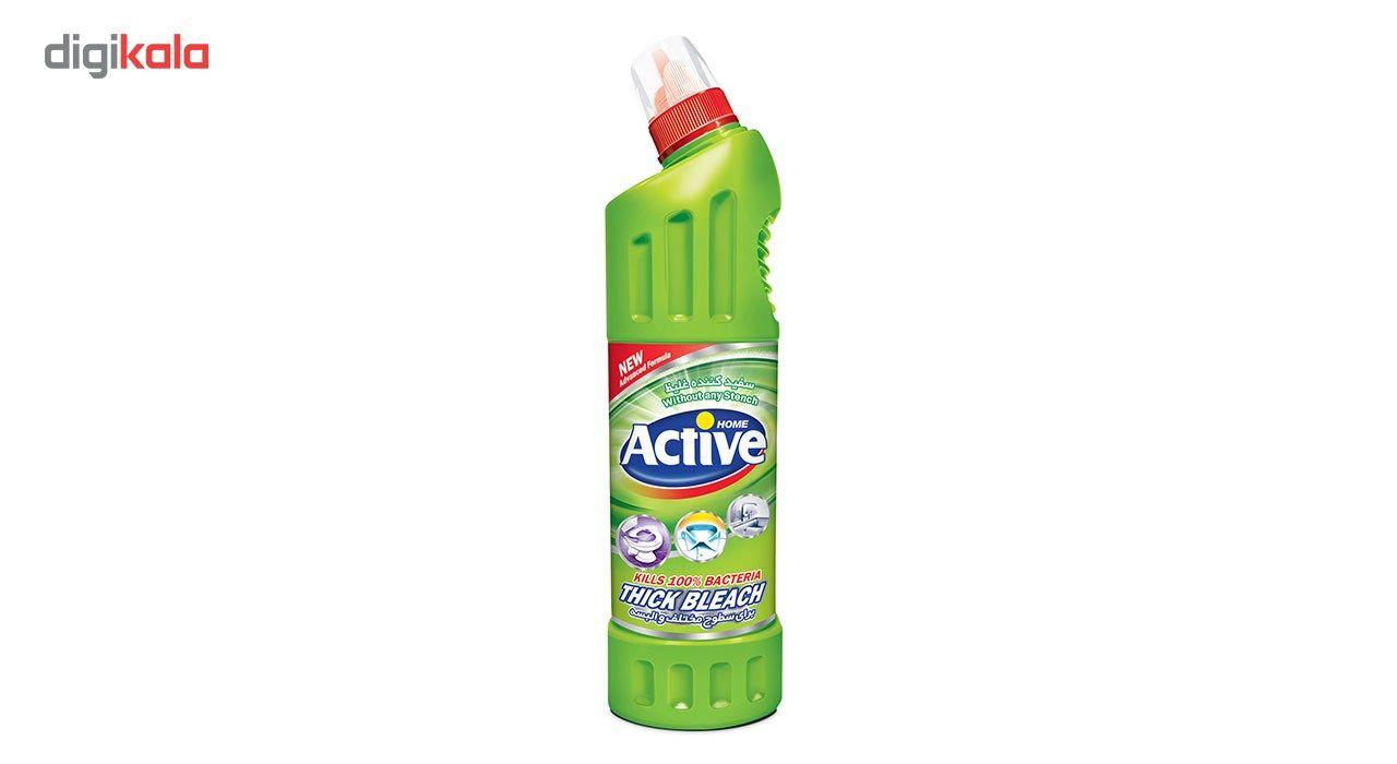 مایع سفید کننده غلیظ سطوح اکتیو مدل Green مقدار 750 گرم main 1 1