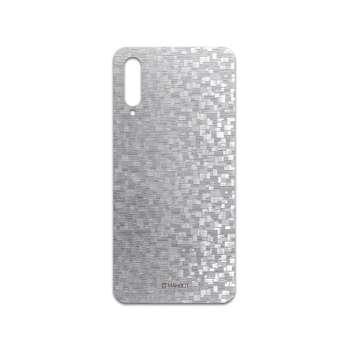 برچسب پوششی ماهوت مدل Silver-Silicon مناسب برای گوشی موبایل سامسونگ Galaxy A50s
