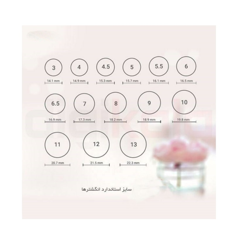 انگشتر نقره مردانه کد a10s