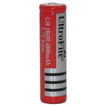 باتری لیتیوم یون قابل شارژ اولترا فایت مدل 18650 ظرفیت 6800 میلی آمپر ساعت