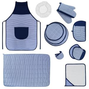 سرویس آشپزخانه 15 تکه مدل چمن