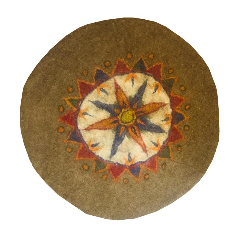 نمد فرش مدل AL01