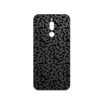 برچسب پوششی ماهوت مدل Black-Silicon مناسب برای گوشی موبایل سامسونگ Galaxy A20s