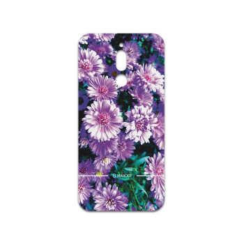 برچسب پوششی ماهوت مدل Purple-Flower مناسب برای گوشی موبایل سامسونگ Galaxy A20s