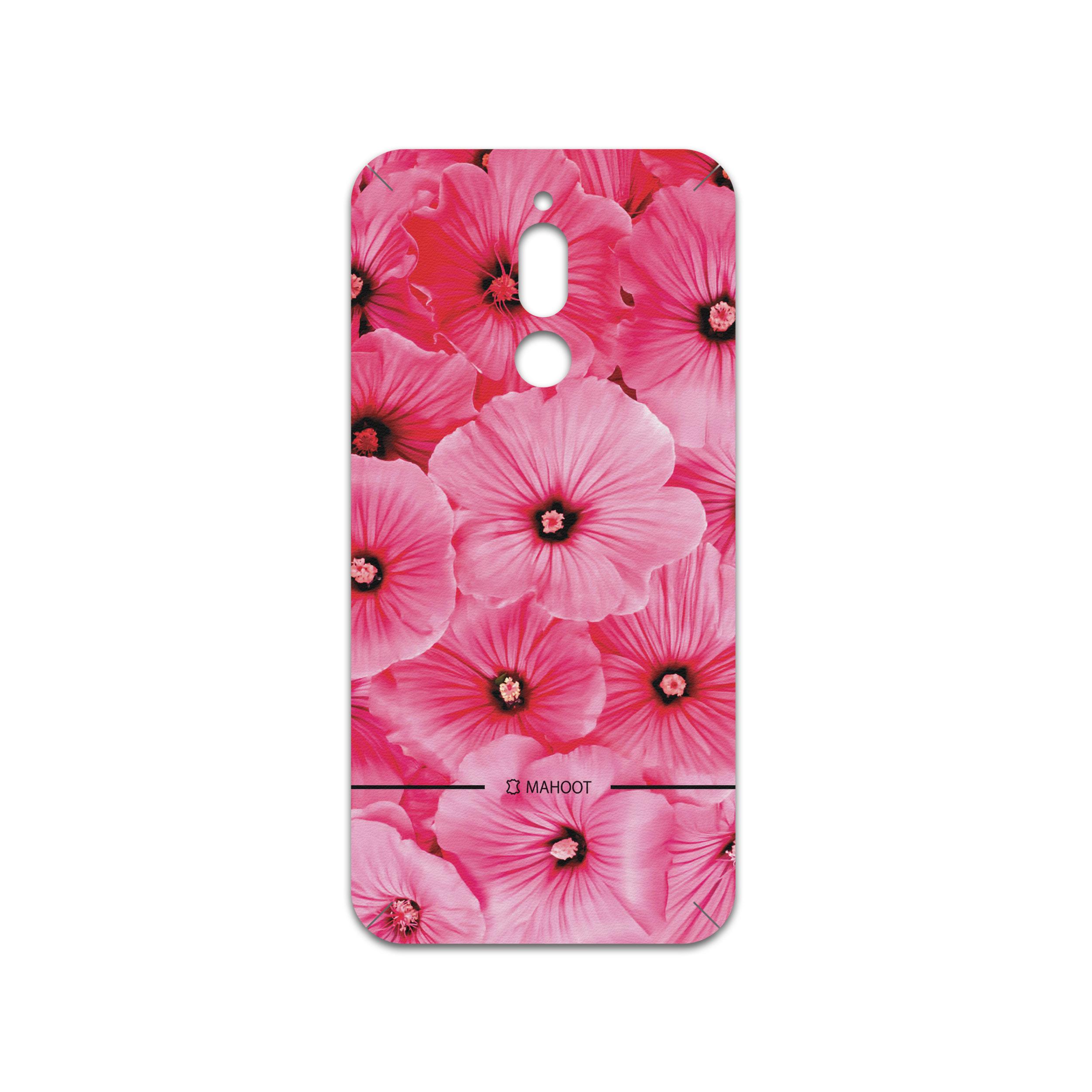 برچسب پوششی ماهوت مدل Pink-Flower مناسب برای گوشی موبایل سامسونگ Galaxy A20s