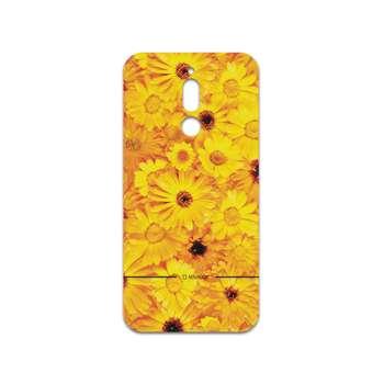 برچسب پوششی ماهوت مدل Yellow-Flower مناسب برای گوشی موبایل سامسونگ Galaxy A20s