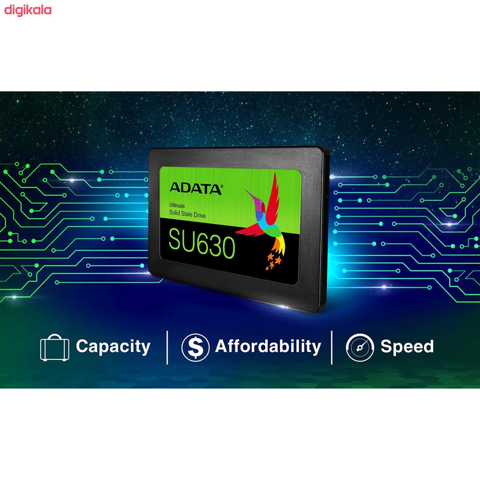 اس اس دی اینترنال ای دیتا مدل Ultimate SU630 ظرفیت 240 گیگابایت main 1 5