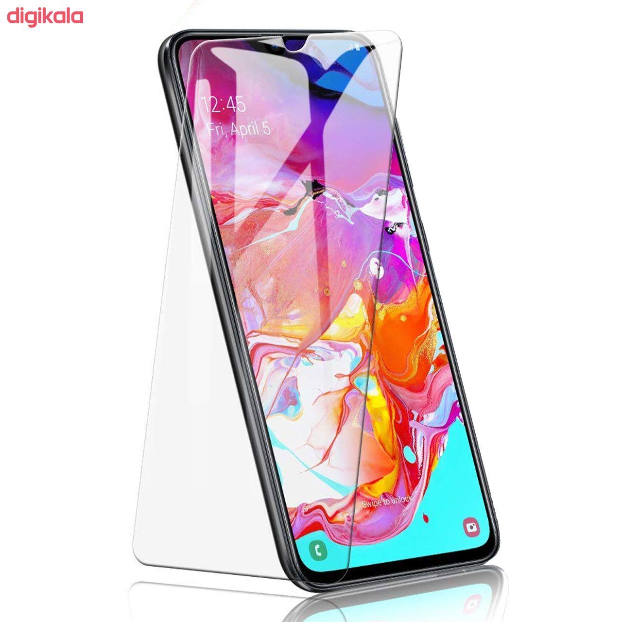 محافظ صفحه نمایش هورس مدل UCC مناسب برای گوشی موبایل سامسونگ Galaxy A70 بسته دو عددی main 1 4