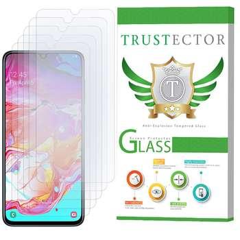 محافظ صفحه نمایش تراستکتور مدل GLS مناسب برای گوشی موبایل سامسونگ Galaxy A70 بسته 5 عددی
