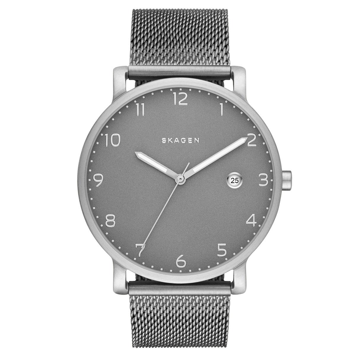 ساعت مچی عقربه ای مردانه اسکاژن دانمارک مدل SKW6307