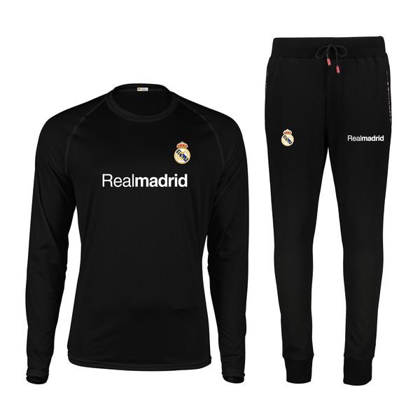 ست تی شرت و شلوار مردانه پاتیلوک طرح رئال مادرید کد 400038