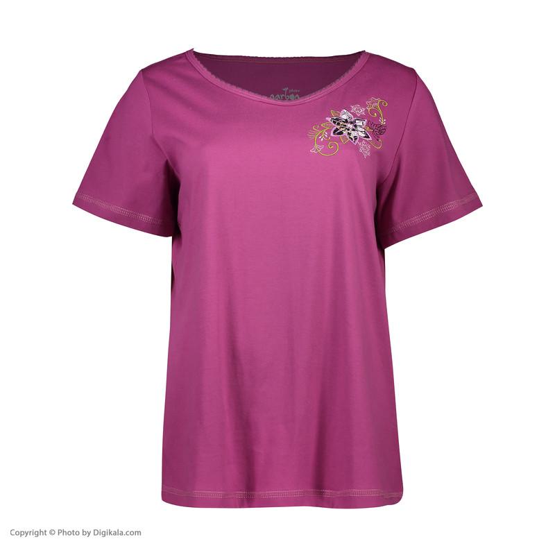 ست تی شرت و شلوار راحتی زنانه ناربن مدل 1521196-71
