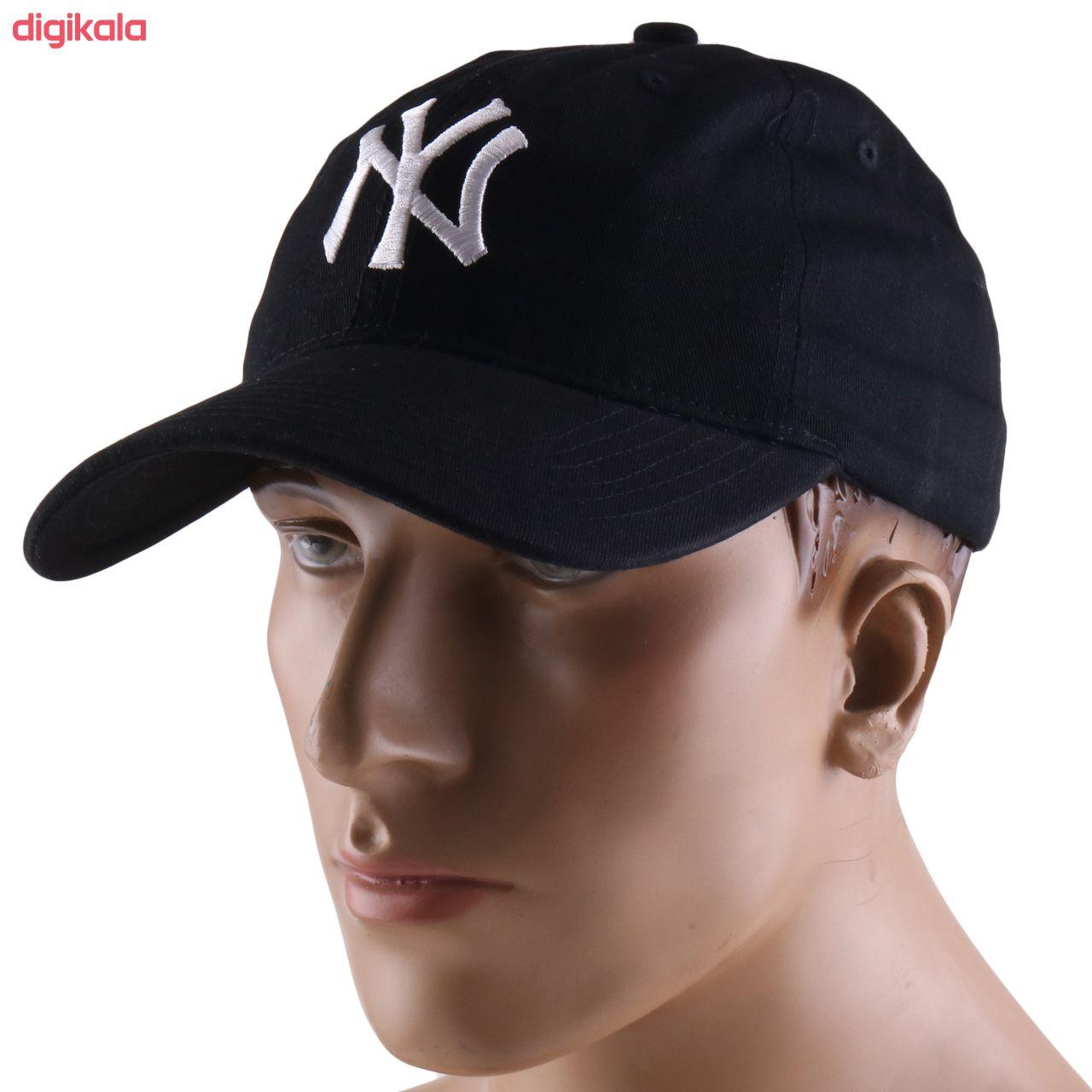 کلاه کپ طرح NY کد 4832 main 1 3
