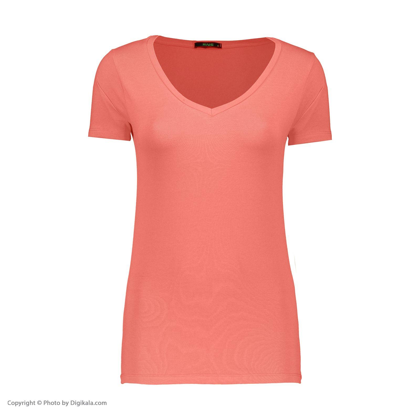 تی شرت زنانه آر ان اس مدل 1102077-80