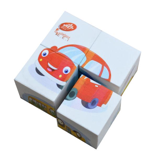 بازی آموزشی صنایع آموزشی مدل مکعبی وسیله نقلیه کد 384