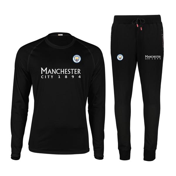 ست تی شرت و شلوار مردانه پاتیلوک طرح منچستر سیتی کد 400033