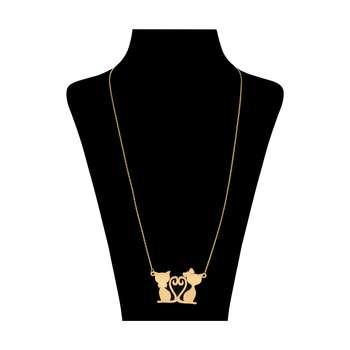 گردنبند طلا 18 عیار زنانه زرمان مدل ZMM0981
