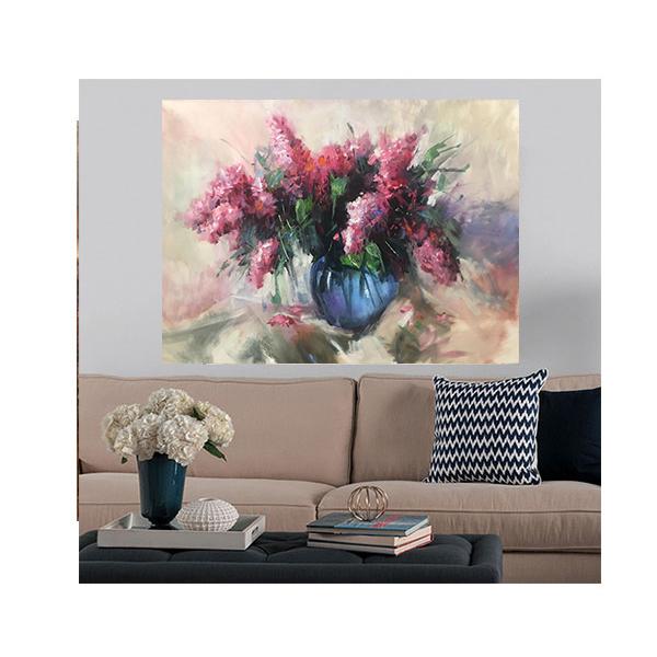 خرید                      تابلو نقاشی رنگ روغن مدل گلدان کد ARP4