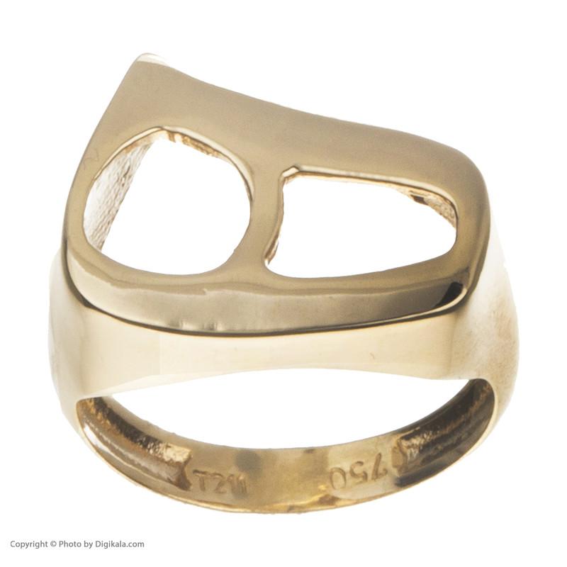انگشتر طلا 18 عیار زنانه مایا ماهک مدل MR0346
