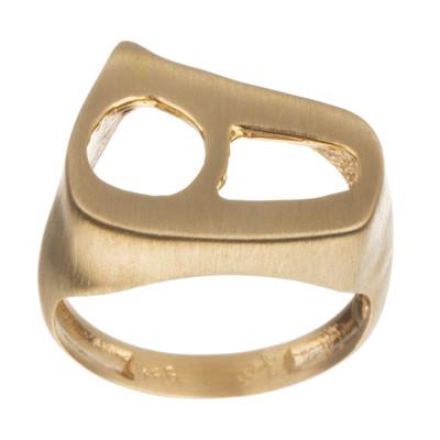 تصویر انگشتر طلا 18 عیار زنانه مایا ماهک مدل MR0347