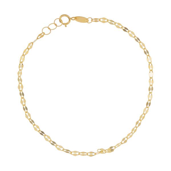 دستبند طلا 18 عیار زنانه مایا ماهک مدل MB0977