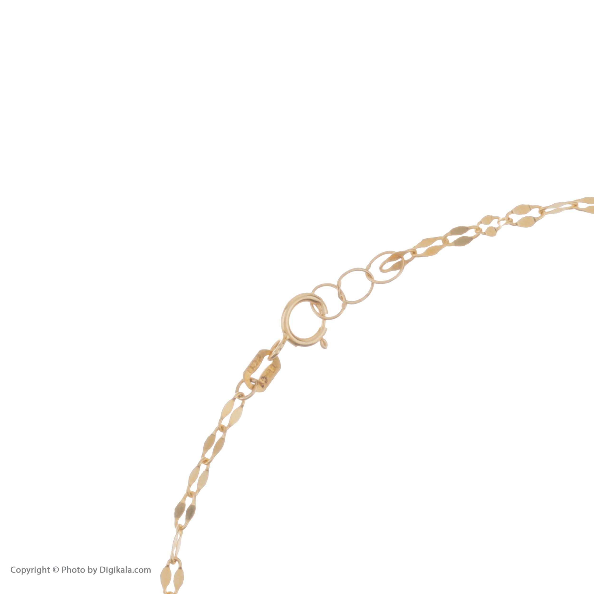 پابند طلا 18 عیار زنانه مایا ماهک مدل MA0124