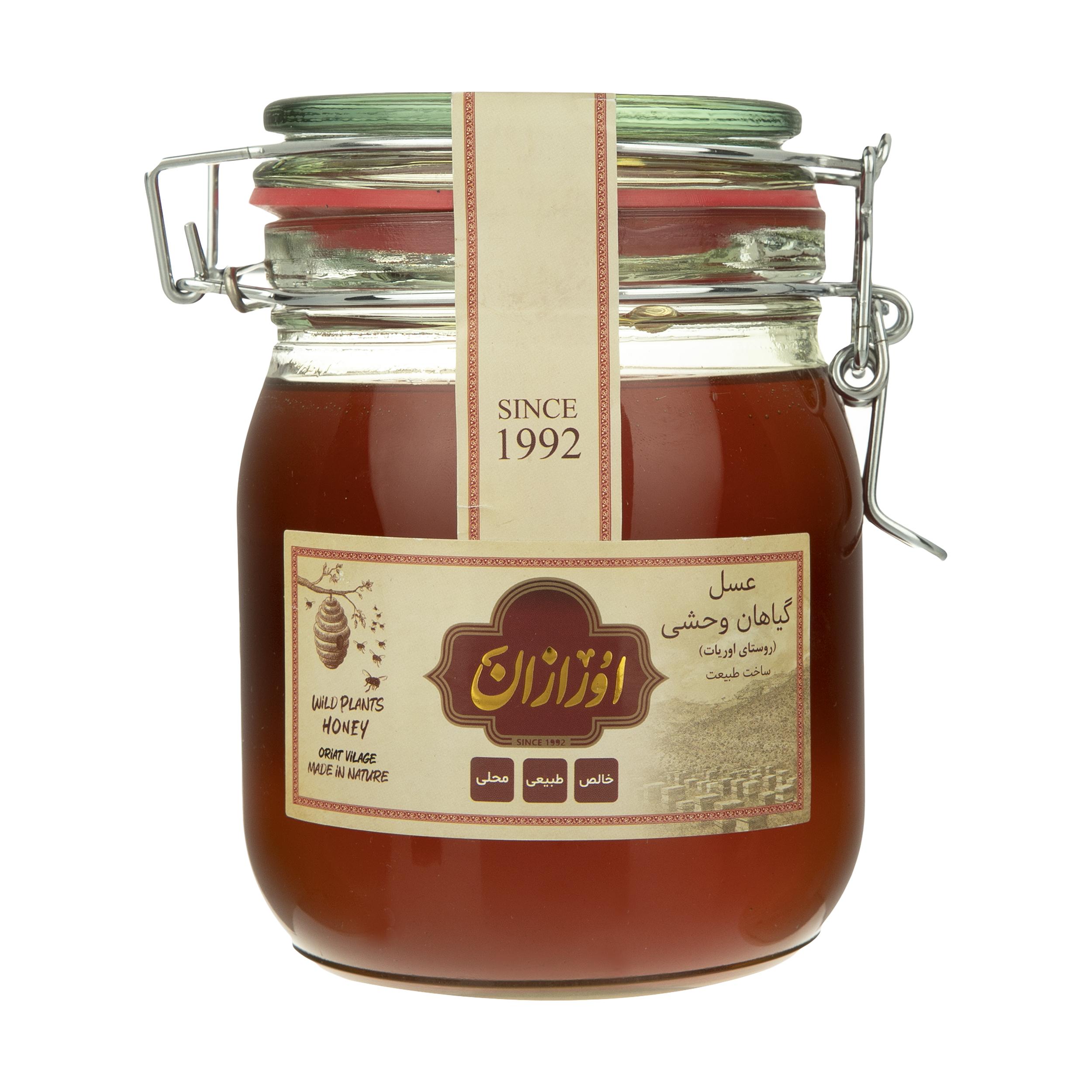 عسل گیاهی وحشی اورگانیک اورازان - 1 کیلوگرم