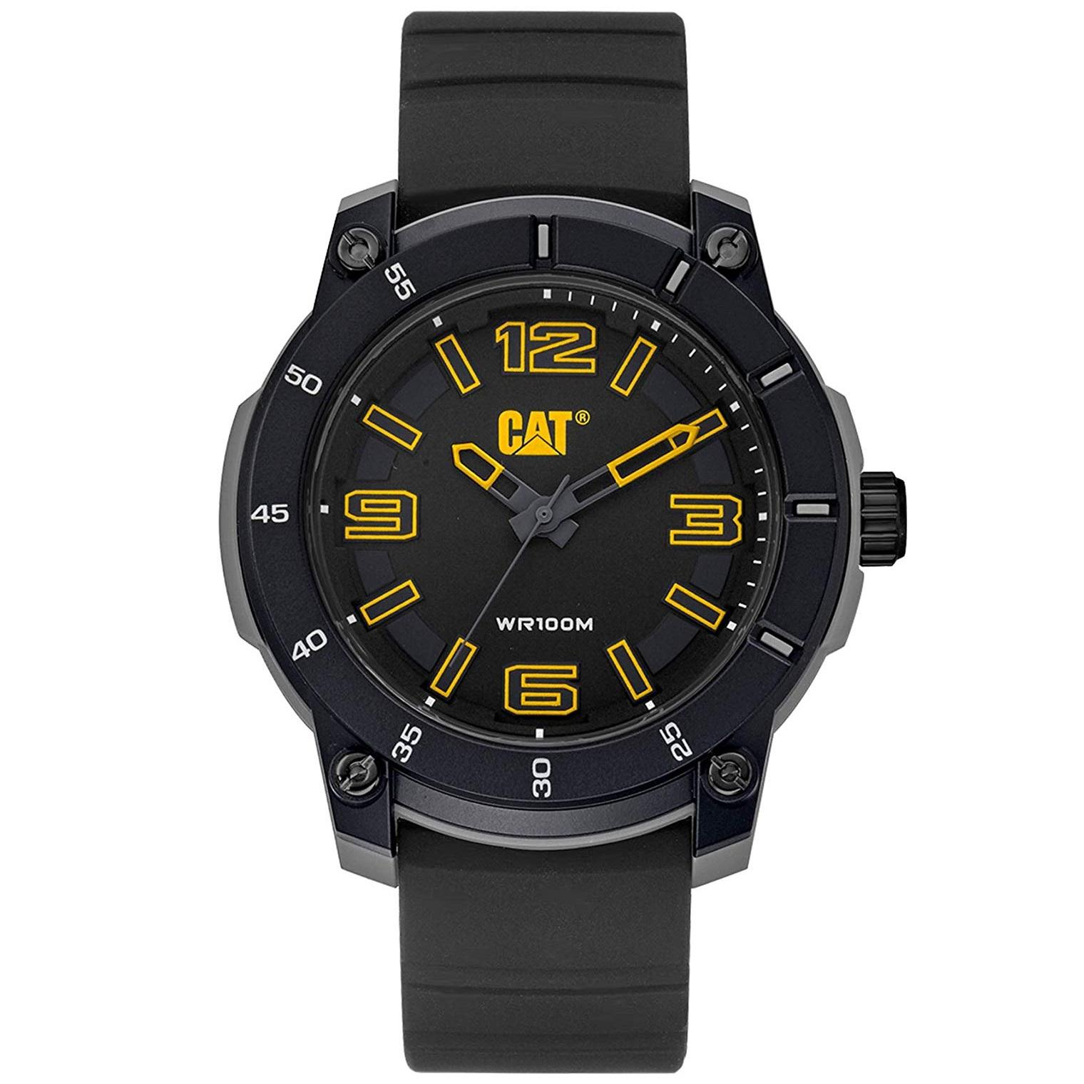 ساعت مچی عقربه ای مردانه کاترپیلار کد LG.140.21.127