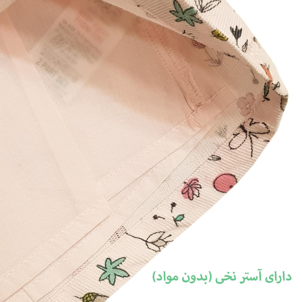 پیراهن نوزادی دخترانه مدل MSPNK114