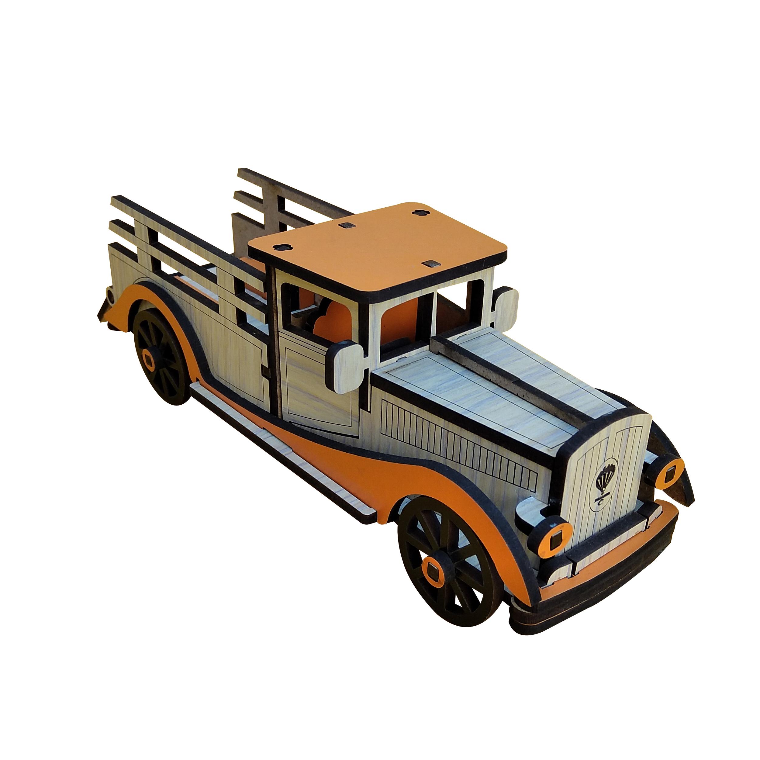خرید                      اسباب بازی چوبی مدل wkcr