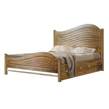 تخت خواب دو نفره کد M02 سایز 160x200 سانتیمتر