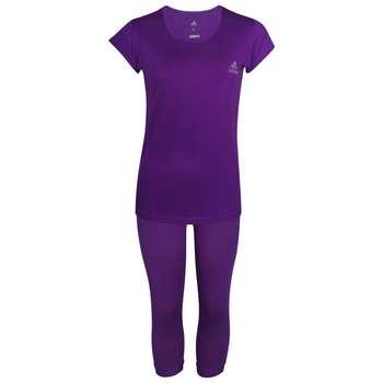 ست تیشرت و شلوارک ورزشی زنانه کد Apuw95
