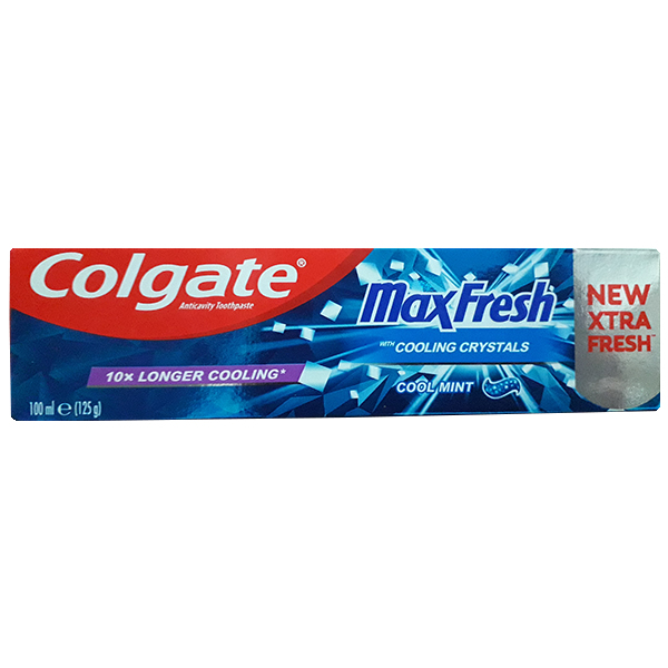 خرید                      خمیر دندان کلگیت مدل Max Fresh حجم 100 میلی لیتر