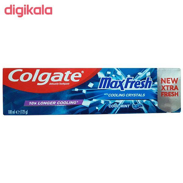 خمیر دندان کلگیت مدل Max Fresh حجم 100 میلی لیتر main 1 1