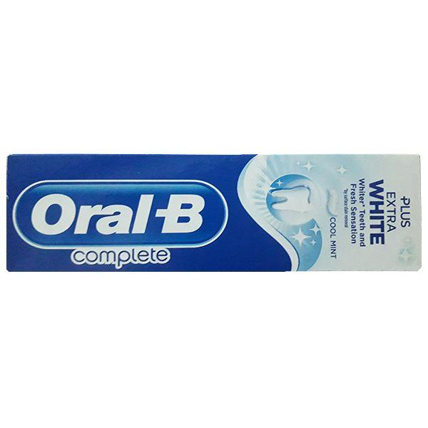 خمیر دندان اورال-بی مدل Plus Extra White حجم 75 میلی لیتر