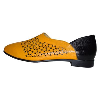 تصویر کفش زنانه پادووا کد ۰۳۰ رنگ زرد