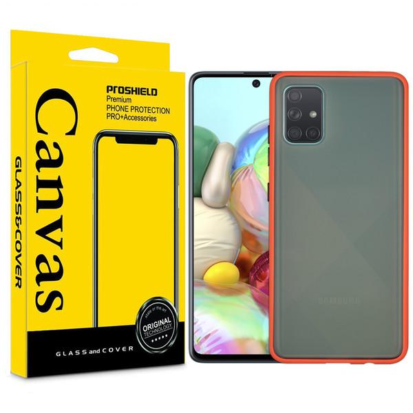 کاور کانواس مدل BMH-01 مناسب برای گوشی موبایل سامسونگ Galaxy A51