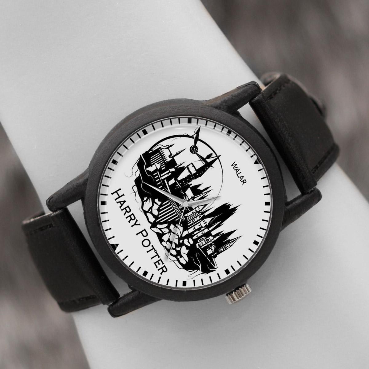 کد تخفیف                                      ساعت مچی عقربه ای والار طرح هری پاتر کد LF2056