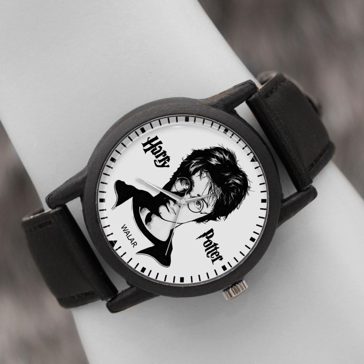 کد تخفیف                                      ساعت مچی عقربه ای والار طرح هری پاتر کد LF2059